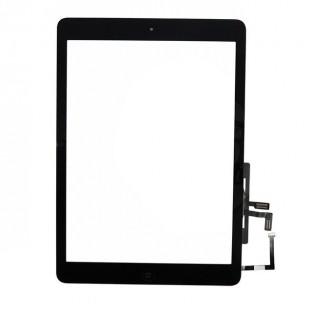 digitateur en verre de l'écran tactile de l'iPad Air noir pré-assemblé (A1474, A1475, A1476)