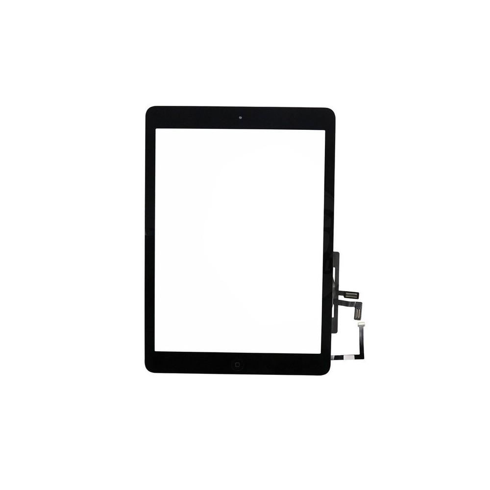 iPad Air Touchscreen Glas Digitizer OEM Schwarz Vormontiert