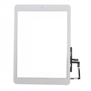 iPad Air Touchscreen Glas Digitizer OEM Weiss Vormontiert