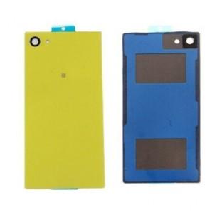 Sony Xperia Z5 Compact Backcover Rückschale mit Kleber Gelb