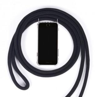 Samsung Galaxy S10 Necklace Handyhülle aus Gummi mit Kordel Rosa