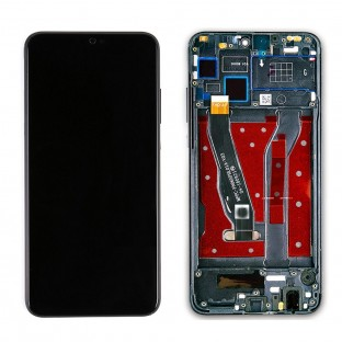 Huawei Honor 8X Replacement Display with Frame LCD Digitizer Black