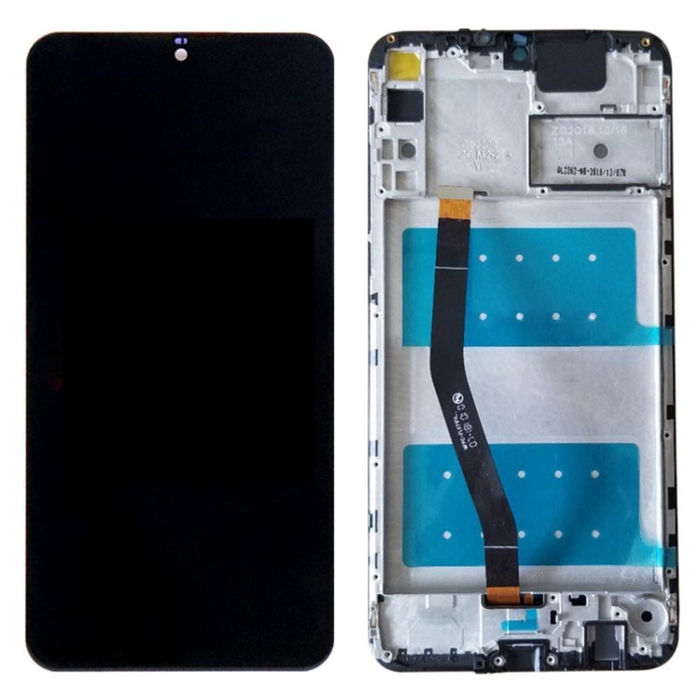 Huawei Honor 8X Max Ersatzdisplay mit Rahmen LCD Digitizer