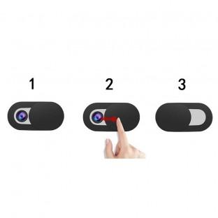3er Set Webcam Abdeckung weiss für Laptop, Tablet, Smartphone & Monitor
