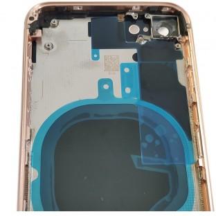 iPhone 8 Backcover / Rückschale mit Rahmen vormontiert Gold