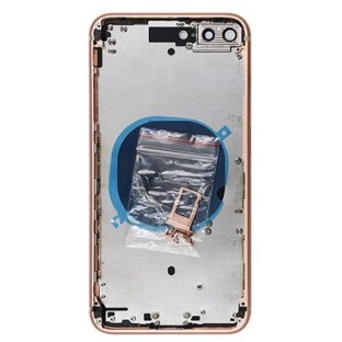 iPhone 8 Plus Backcover / Rückschale mit Rahmen vormontiert Gold