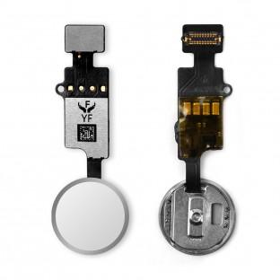 Home Button für iPhone 7 / 8 / Plus / SE2020 mit Flexkabel Weiss