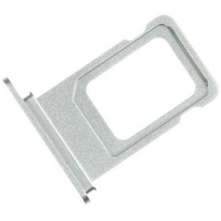 Dual Sim Tray Karten Schlitten Adapter für iPhone Xr Silber
