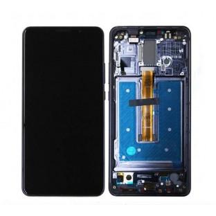 Ersatzdisplay Huawei Mate 10 Pro LCD Digitizer Schwarz mit Rahmen vormontiert