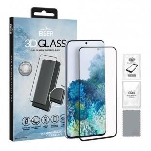 Eiger Samsung Galaxy S20 3D Glass Display Schutzfolie Vollbildschirm (EGSP00582)
