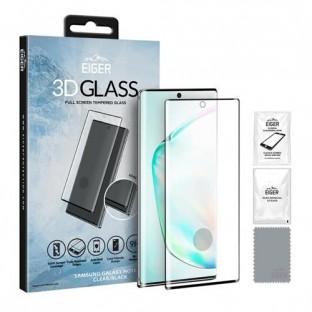 Eiger Samsung Galaxy Note 10 Plus 3D Glass Display Schutzglas für die Nutzung mit Hülle geeignet (EGSP00533)