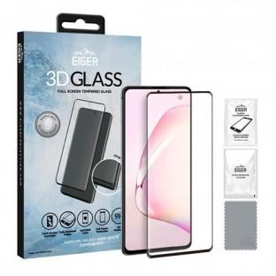 Eiger Samsung Galaxy Note 10  Lite 3D Glass Display Schutzfolie  für die Nutzung mit Hülle geeignet (EGSP00529)