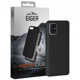 Eiger Galaxy A71 North Case Premium Hybrid Schutzhülle Schwarz (EGCA00196)