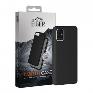 Eiger Galaxy A51 North Case Premium Hybrid Protective Cover Black (EGCA00195)