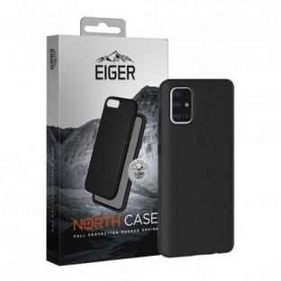 Eiger Galaxy A51 North Case Premium Hybrid Schutzhülle Schwarz (EGCA00195)