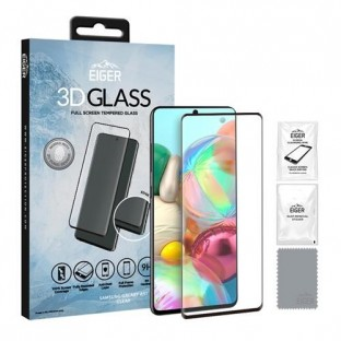 Eiger Samsung Galaxy A51 3D Glass display protection glass suitable for use with cover (EGSP00571)