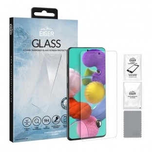"""Eiger Samsung Galaxy A51 display protection glass """"2.5D Glass clear"""" (EGSP00573)"""