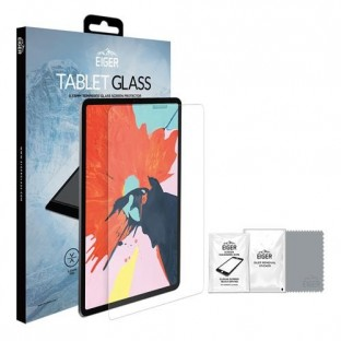 """Eiger iPad Pro 12.9'' (2018 / 2020) Display Protection Glass """"2.5D Glass clear"""" (EGSP00348)"""