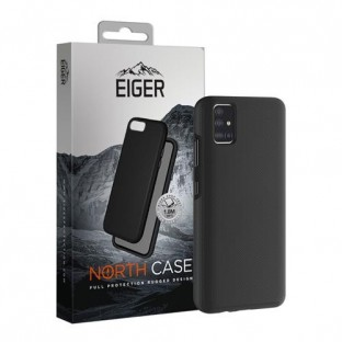 Eiger Galaxy A41 North Case Premium Hybrid Protective Cover Noir (EGCA00203)