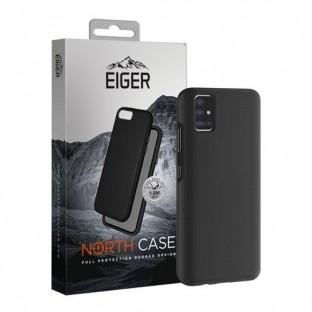 Eiger Galaxy A41 North Case Premium Hybrid Schutzhülle Schwarz (EGCA00203)