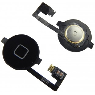 iPhone 4 Home Button Schwarz (A1332, A1349)
