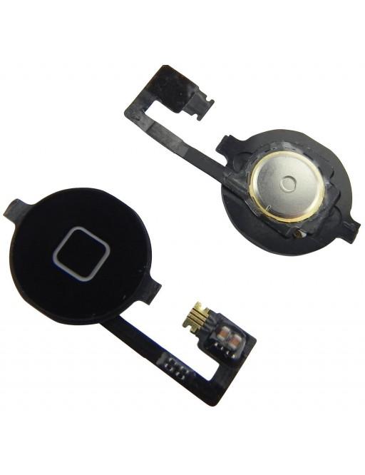 iPhone 4 Home Button Schwarz