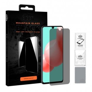 Eiger Samsung Galaxy A41 3D privacy display protection glass suitable for use with cover (EGSP00137)