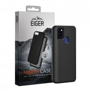 Eiger Galaxy A21s North Case Premium Hybrid Schutzhülle Schwarz (EGCA00211)