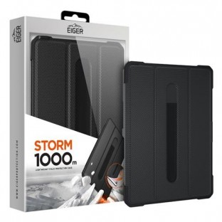 Eiger Apple iPad Pro 12.9'' (2018 / 2020) Extérieur Couverture Storm 1000m Noir (EGSR00107)