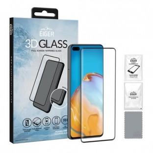Eiger Huawei P40 3D Glass verre de protection de l'écran à utiliser avec la couverture (EGSP00599)