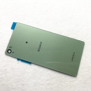 Sony Xperia Z3 Backcover Backshell with Adhesive Green