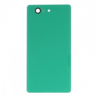Sony Xperia Z3 Compact Backcover Backshell with Adhesive Green