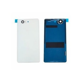Sony Xperia Z3 Compact Backcover Backshell with Adhesive White