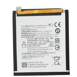 Nokia X6 Akku - Batterie HE342 - 3060mAh
