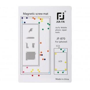 Magnetische Schraubenhalter-Matte für iPhone 5