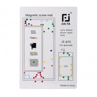Magnetische Schraubenhalter-Matte für iPhone 6