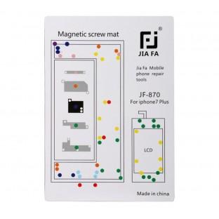 Magnetische Schraubenhalter-Matte für iPhone 7 Plus