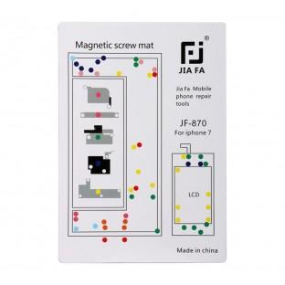 Magnetische Schraubenhalter-Matte für iPhone 7