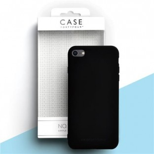Case 44 Coque en silicone pour iPhone SE (2020) / 8 / 7 Noir (CFFCA0272)