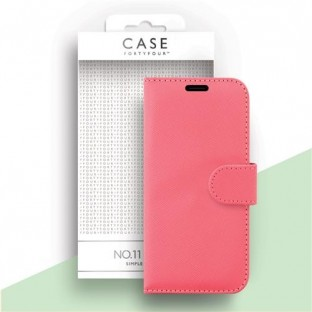 Case 44 faltbare Hülle mit Kreditkarten-Halterung für das iPhone SE (2020) / 8 / 7 / 6S / 6 Pink (CFFCA0420)