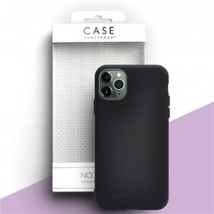 Case 44 Silikon Backcover für iPhone 11 Pro Max Schwarz (CFFCA0319)