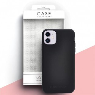 Case 44 Silikon Backcover für iPhone 11 Schwarz (CFFCA0317)