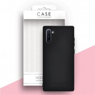 Case 44 Silicone Backcover for Samsung Galaxy Note 10 Black (CFFCA0235)