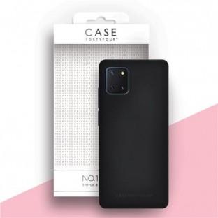 Case 44 Silikon Backcover für Samsung Galaxy Note 10 Lite  Schwarz (CFFCA0393)