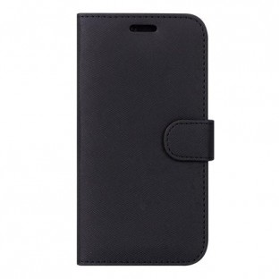 Case 44 foldable case with credit card holder for the Samsung Galaxy A80 Black (CFFCA0210)