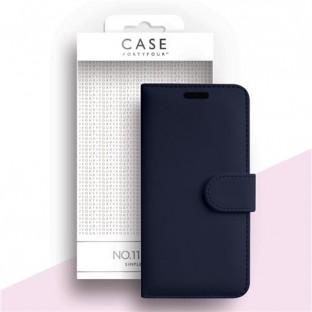 Case 44 faltbare Hülle mit Kreditkarten-Halterung für das Samsung Galaxy A51 Blau (CFFCA03500)