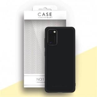 Case 44 Silicone Backcover for Samsung Galaxy A41 Black (CFFCA0439)