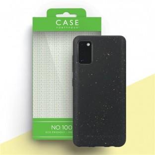 Case 44 ökologisch abbaubares Backcover für Samsung Galaxy A41 Schwarz (CFFCA0441)