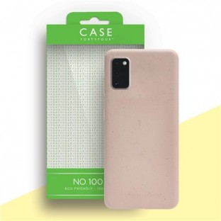Case 44 ecologically degradable back cover for Samsung Galaxy A41 Pink (CFFCA0443)