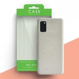 Case 44 Ecodegradable Backcover for Samsung Galaxy A41 White (CFFCA0442)